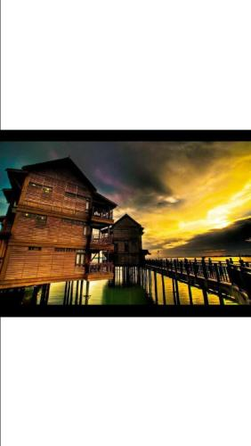 Отель Delisha Suite Private Unit @ Langkawi Lagoon 4 звезды Малайзия