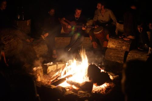 Canadian Wood Tipi Chalet