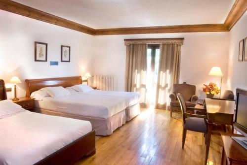 Double Room with Extra Bed Hotel de Tredòs 2