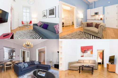 Vienna Prestige Luxury Boutique Apartments Graben - Suite (1 - 4 Erwachsene)