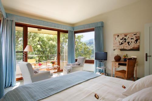Habitación Doble con balcón  Hotel Nabia 2