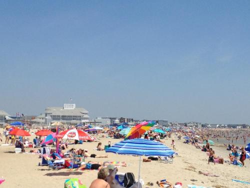 Beachfront at Hampton Beach