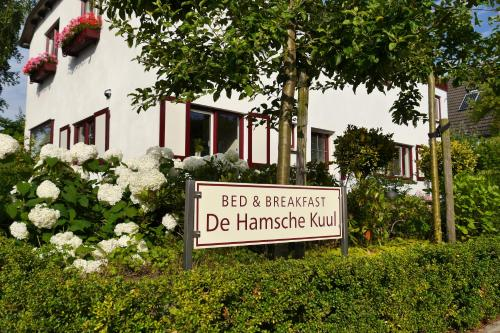 Bed And Breakfast De Hamsche Kuul