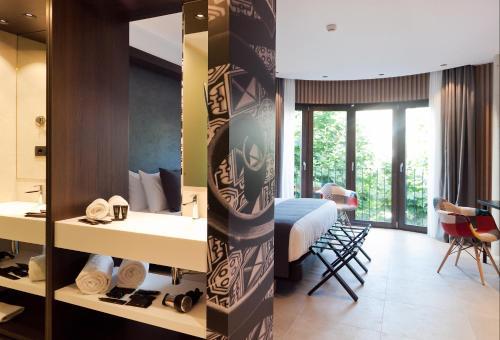 Habitación Doble Superior Vila Arenys Hotel 4