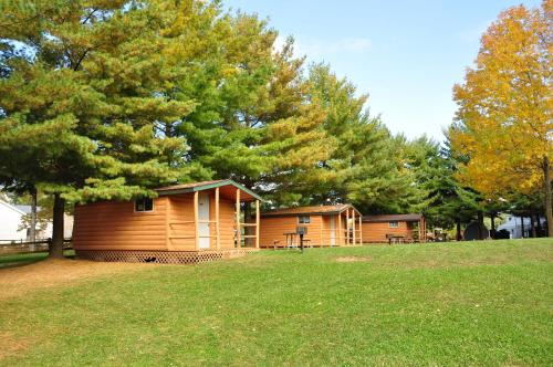 Plymouth Rock Camping Resort One-Bedroom Cabin 10