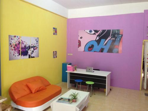 Отель Pop Art Hostel Samui 0 звёзд Таиланд