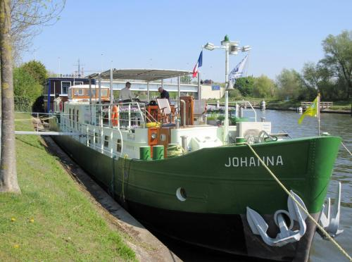 Отель B&B Barge Johanna 0 звёзд Бельгия