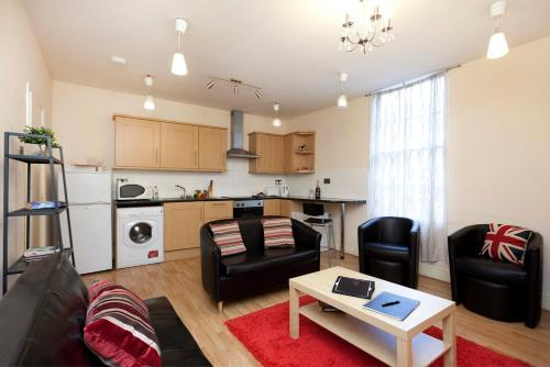 Nottingham Central Budget Apartments