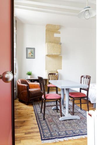 Appartement Blanc et Gris