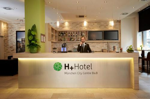 H+ Hotel München City Centre B & B photo 7