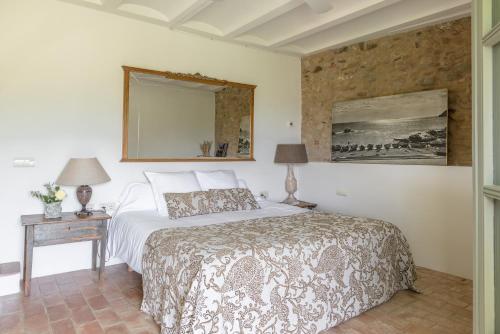 Doppel-/Zweibettzimmer mit Gartenblick Can Bassa 1