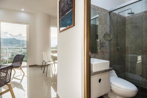 A terrazas tayrona travelers apartamentos y for Terrazas tayrona