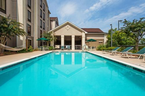 Hampton Inn And Suites Greenville Duncan Hotel