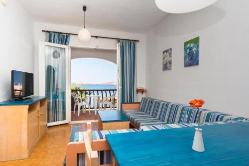 Superior Apartment mit 1 Schlafzimmer und Meerblick (Superior One-Bedroom Apartment with Sea View)