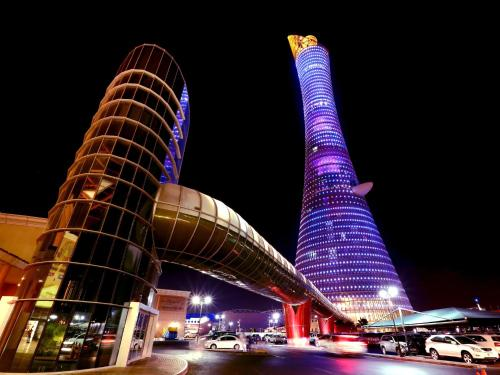 Stay at The Torch Doha