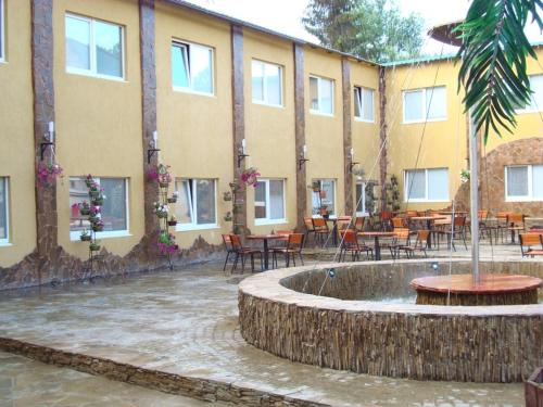 Hotel Complex Dyuk front view