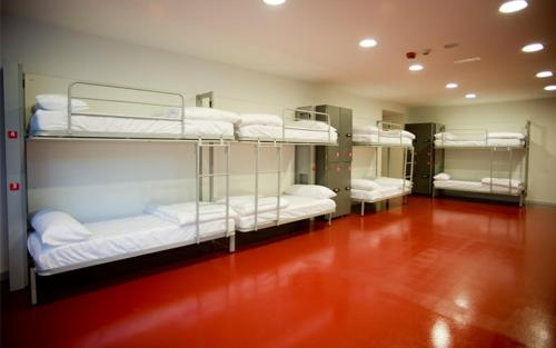 Lit dans un Dortoir Mixte de 6 Lits (Bed in 6-Bed Mixed Dormitory Room)
