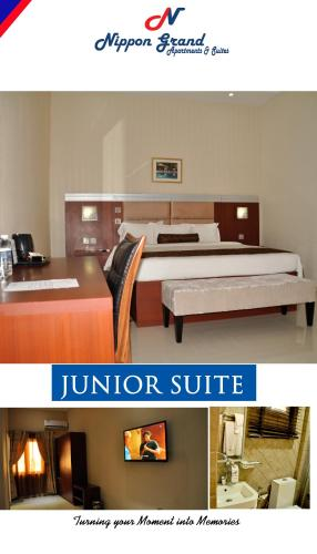 Junior-Suite mit Poolblick (Junior Suite with Pool View)