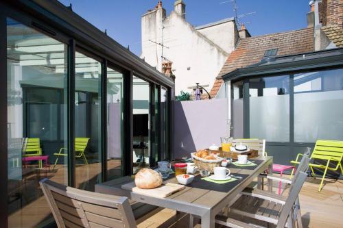 La terrasse des Climats Veranda