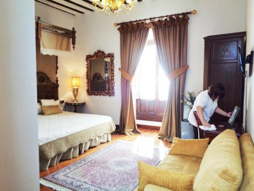 Habitación Doble Deluxe Boutique Hotel Nueve Leyendas 39