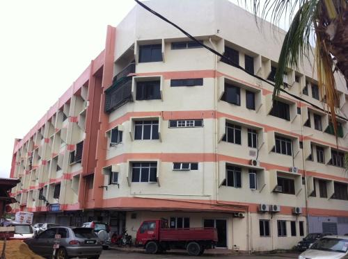 Wisma Pantai Apartment front view