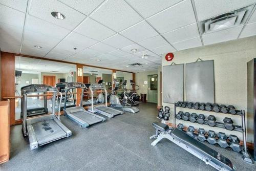 Fitness center Hearthstone Lodge Village Center Apartment HS218 British Columbia