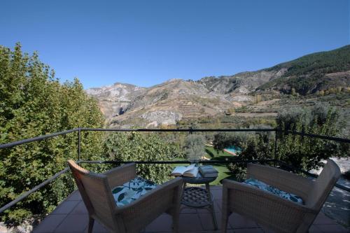 Habitación Doble con terraza La Almunia del Valle 1