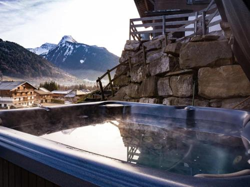 Luxurious Holiday Home in Morzine with Sauna