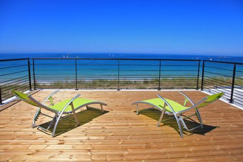 Villa de la plage de Plouescat