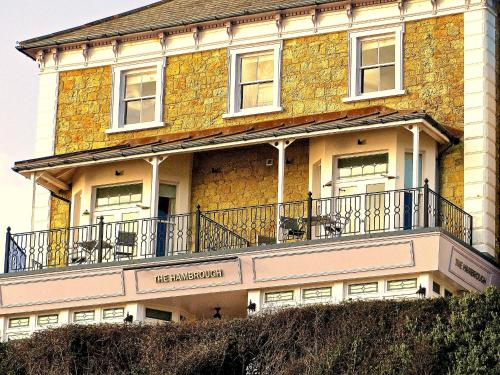 The Hambrough hotel in Ventnor, Isle of Wight