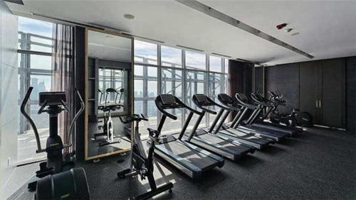 Fitness center Downtown Condo near Bloor Street