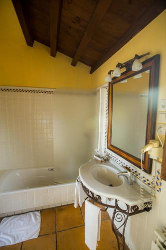 Doppel-/Zweibettzimmer mit eigener Terrasse Cigarral de Caravantes 17