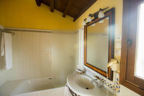Doppel-/Zweibettzimmer mit eigener Terrasse Cigarral de Caravantes 15