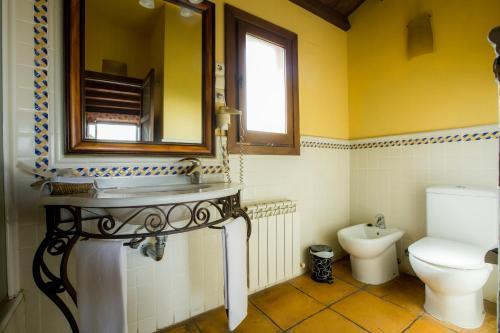 Doppel-/Zweibettzimmer mit eigener Terrasse Cigarral de Caravantes 13