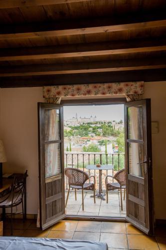 Doppel-/Zweibettzimmer mit eigener Terrasse Cigarral de Caravantes 19
