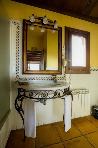 Doppel-/Zweibettzimmer mit eigener Terrasse Cigarral de Caravantes 12