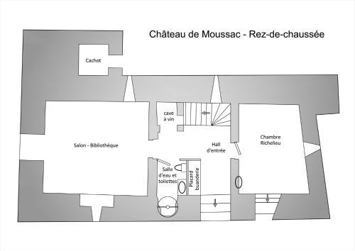Château de Moussac - Gîte