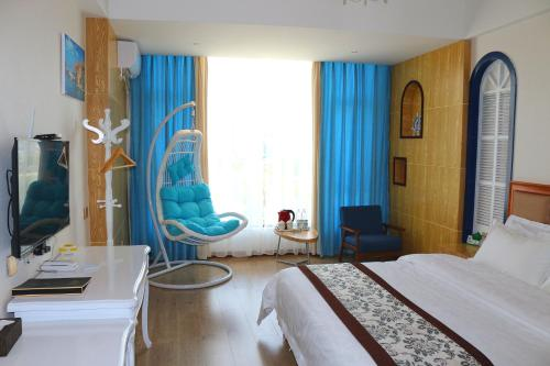 Aegean Sea Themed Double Room