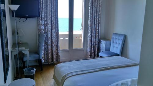 Superior Doppelzimmer mit Meerblick (Superior Double Room with Sea View)