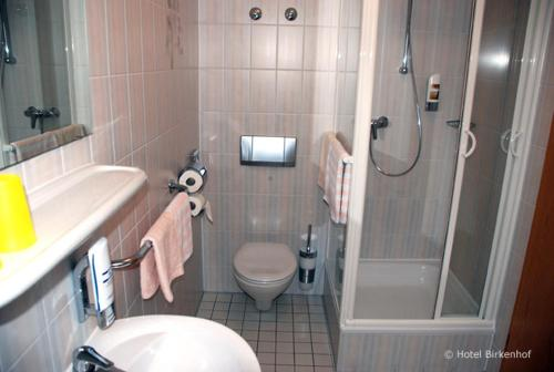 Bathroom Hotel & Restaurant Birkenhof