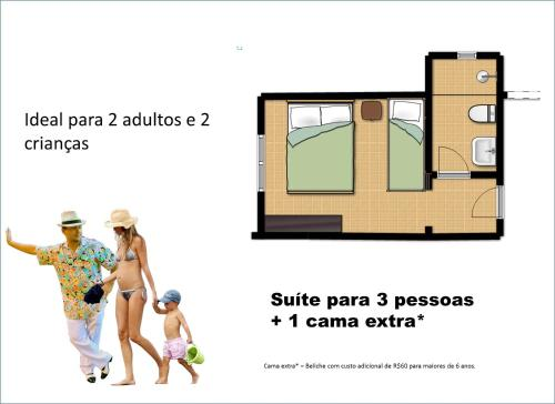 Suite para 3 adultos (Suite (3 Adults))