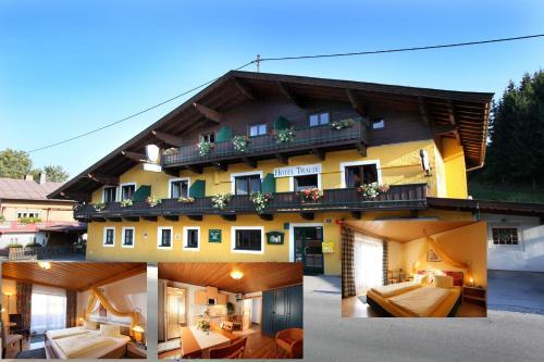 Aparthotel Traube - Comfort Apartment mit 2 Schlafzimmern (4-6 Erwachsene)
