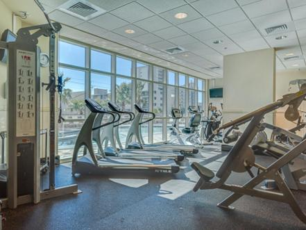 Fitness center Crystal Tower 605 Apartment