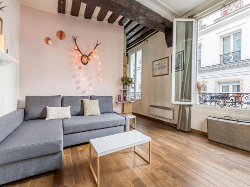 Lovely Apartment for 4 Montorgueil Greneta