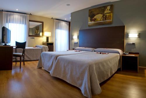 Отель Hotel Ciudad de Sabiñánigo 3 звезды Испания