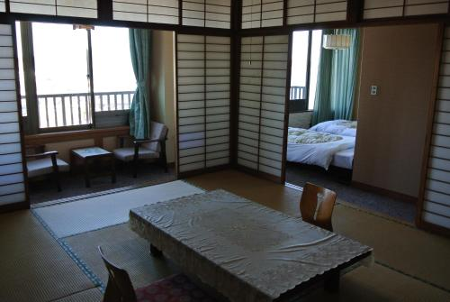 Family Room with Tatami Area and Sea View