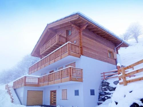 Splendid Valley View Chalet in Les Collons
