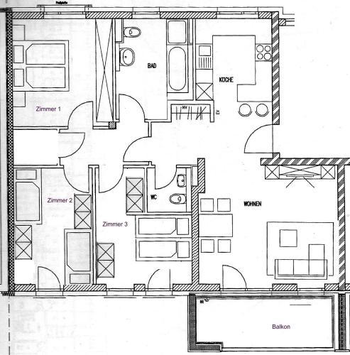 Apartment am alten Hessenbach