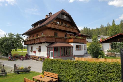 Pension Waldesruh/Halseralm - Apartment mit 2 Schlafzimmern und Terrasse