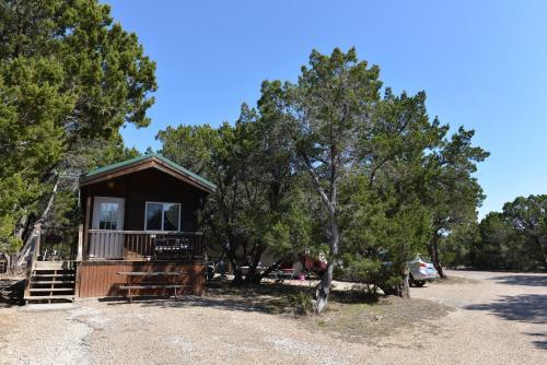 Lake Whitney Camping Resort Cabin 1